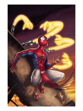 Spider-Man India 3 Cover: Spider-Man Affiches par Kang Jeevan J.
