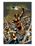 Wolverine: First Class No.4 Cover: Shadowcat and Wolverine Prints by Davis Alan