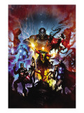 Realm of Kings 1 Cover: Quasar Print by Clint Langley