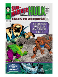 Tales to Astonish No.73 Cover: Hulk and Uatu The Watcher Posters by Vince Colletta