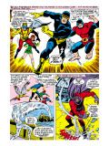X-Men 43 Group: Cyclops, Beast, Angel, Iceman, Magneto, X-Men and Marvel Girl Art by George Tuska