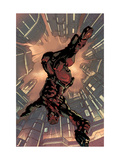 Daredevil 2099 1 Cover: Daredevil Crouching Prints by Pat Lee