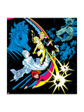 The Official Handbook Of The Marvel Universe Teams 2005 Group: Zero-G Posters by June Brigman