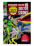 Strange Tales 150 Cover: Dr. Strange and Umar Posters by Bill Everett