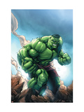 Marvel Age Hulk No.1 Cover: Hulk Art by Davis Shane