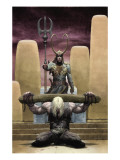 Loki 1 Cover: Thor and Loki Art