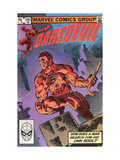 Daredevil 500 Cover: Daredevil Print by Frank Miller