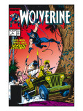 Wolverine No.5 Cover: Wolverine Print by John Buscema