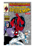 Amazing Spider-Man No.321 Cover: Spider-Man, Silver Sable and Paladin Posters by Todd McFarlane