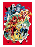 Uncanny X-Men No.392 Group: Phoenix Prints by Salvador Larroca