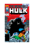 Incredible Hulk No.333 Cover: Hulk Flying Prints by Todd McFarlane