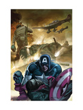 Captain America 601 Cover: Captain America Posters by Gene Colan
