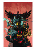 New Warriors 9 Cover: Night Thrasher Prints