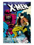 X-Men : Days Of Future Past Cove Cover: Wolverine and Sentinel Prints by Guice Jackson