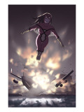 Spider-Woman: Origin 3 Cover: Spider Woman Charging Prints by Jonathan Luna