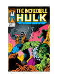 Incredible Hulk No.332 Cover: Hulk Fighting Posters by Todd McFarlane