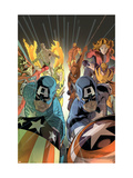 Marvel Adventures: The Avengers No.37 Cover: Captain America Posters