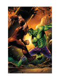 Marvel Adventures Hulk No.10 Cover: Hulk and Juggernaut Prints by Sean Murphy