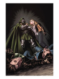 X-Factor No.201 Cover: Miller, Layla and Dr. Doom Prints by David Yardin