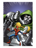Marvel Adventures Spider-Man 9 Cover: Spider-Man and Dr. Doom Affiches par Mike Norton