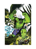 Hulk Team-Up #1 Cover: Hulk, Iceman and Angel Pósters por Michael Golden