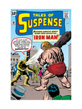 Tales Of Suspense: Iron Man No.42 Cover: Iron Man and Gargantus Prints by Jack Kirby