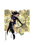 Young Avengers Presents 6 Cover: Hawkeye Prints by Jim Cheung