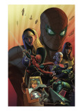 What if Spider-Man: House of M 1 Cover: Spider-Man and Green Goblin Prints by Terry Dodson