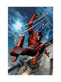 Daredevil No.65 Cover: Daredevil Poster von Land Greg