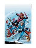 Marvel Adventures The Avengers 19 Cover: Quicksilver Art by Tom Grummett