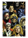 Secret Invasion: Who Do You Trust Cover: Namora Prints by Phil Jimenez