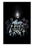 Inhumans 2099 1 Cover: Black Bolt and Inhumans Flying Posters by Pat Lee