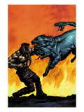 Hercules No.5 Cover: Hercules Print by Mark Texeira