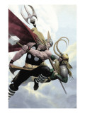 Loki No.2 Cover: Thor and Loki Affiches