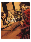 Uncanny X-Men Annual No.2 Group: Emma Frost, Dr. Doom, Osborn and Norman Prints by Mitchell Breitweiser