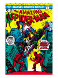 The Amazing Spider-Man 136 Cover: Spider-Man and Green Goblin Affiches par Ross Andru