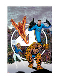 Fantastic Four Visionaries: George Perez Volume 1 Cover: Mr. Fantastic Láminas por George Perez