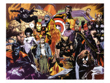Marvel 1985 6 Group: Wolverine Prints by Edwards Tommy Lee