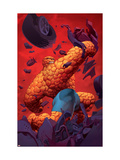 Ultimate Fantastic Four No.8 Cover: Thing Print by Stuart Immonen