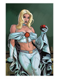 Uncanny X-Men Annual 2 Cover: Emma Frost Poster by Paquette Yanick