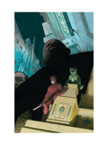 Daredevil No.503 Cover: Daredevil and Kingpin Art by Ribic Esad