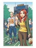 Mary Jane: Homecoming No.3 Cover: Watson, Mary Jane, Thompson and Flash Fighting Posters by Miyazawa Takeshi