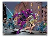 New Thunderbolts No.10 Group: Swordsman and Joystick Riding Prints by Tom Grummett
