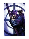 Dark Reign: Hawkeye 1 Cover: Hawkeye Print by Clint Langley