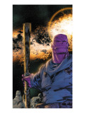 Thanos 8 Cover: Thanos Prints by Keith Giffen