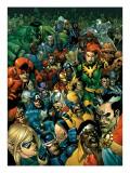 Secret Invasion Saga Cover: Daredevil Poster by Leinil Francis Yu