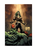 Hulk No.18 Cover: Doc Samson, Hulk and Rulk Prints by Portacio Whilce