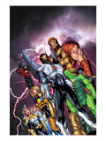 New Thunderbolts No.1 Cover: Atlas Prints by Tom Grummett