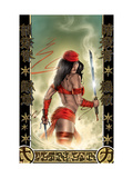 Elektra 33 Cover: Elektra Prints by Fleming Tom