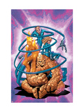 Marvel Age Fantastic Four 3 Cover: Thing Posters by Makoto Nakatsuki